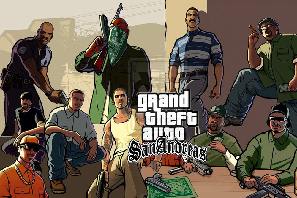 personnages du jeu